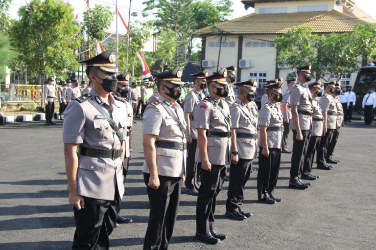 9 Perwira Polres Sampang Dimutasi, Mulai Wakapolres, Kasat hingga Kapolsek