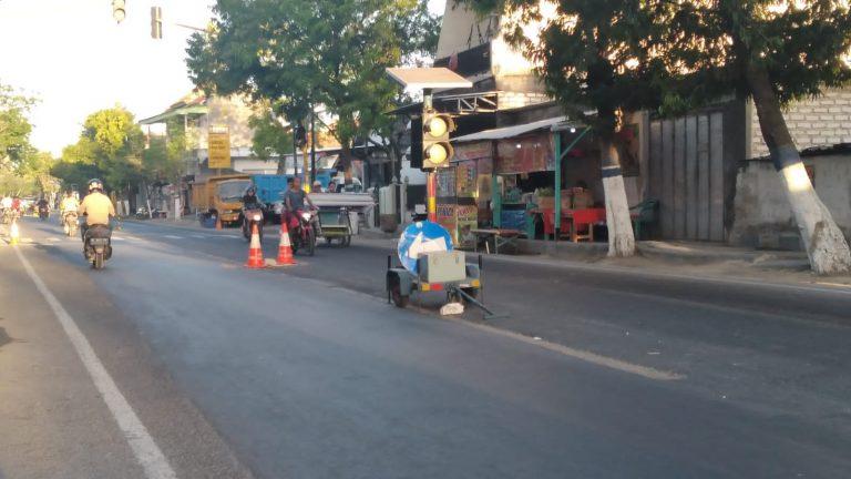 Proyek Penerangan Jalan Umum di Sampang Molor, Rekanan Terancam Didenda